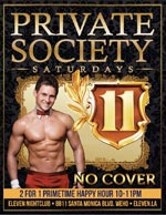 Private Society Saturdays Eleven-Nightclub