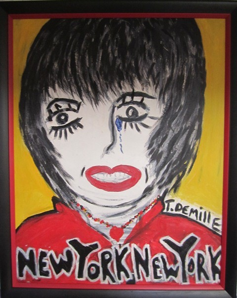 liza minnelli done by Tom DeMille