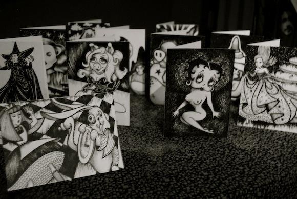 Art cards by Martin Matamoros