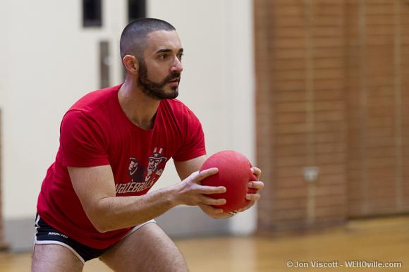 Justin Natoli seeks his next target.