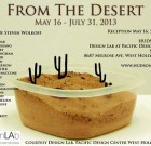 5/16: 'From the Desert' at PDC
