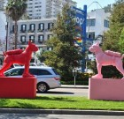 Who Let the Dog Out? Pink Pooch Sculpture Goes Missing