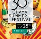 7/28: Chaya Summer Festival