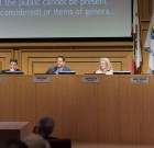 Crowds Celebrate Heilman and Land, D'Amico, Horvath and Meister, at WeHo City Council Transition