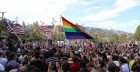 Hundreds Rally at West Hollywood Park to Celebrate Same-Sex Marriage Decision