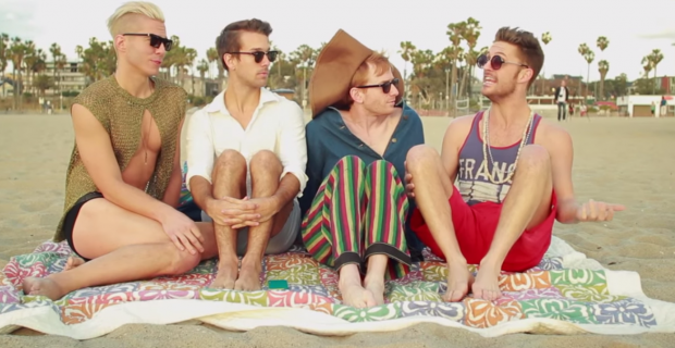 Gay Guys Do 'Sex and the City' in This L.A. Video
