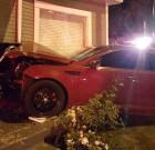 Car Crashes into House on Fountain Ave.