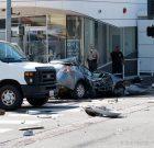Single-Car Crash Kills Driver and Closes Part of Sunset