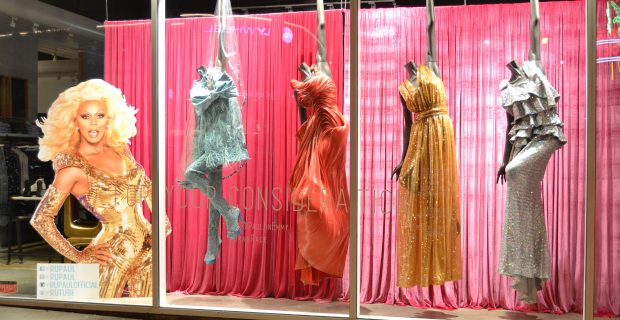 Santa Monica Boulevard Gets Glam with RuPaul Gowns at LASC