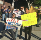 The Donald's Lovers and Haters Get in a Fight in WeHo