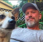 WeHo's 'Dudes with Dogs' Founder Does a 'Delfie'