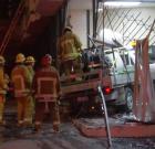 Truck Crashes into Store on Santa Monica Boulevard
