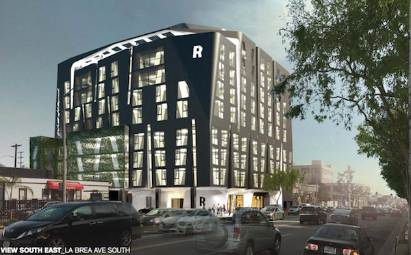 New Hotel Proposed for WeHo's Eastside