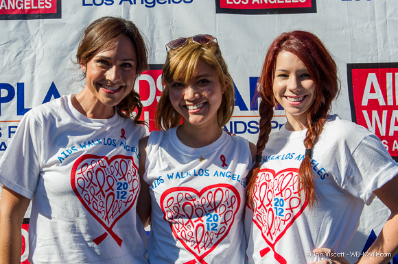 AIDS Walk 2012 Celebrity 2