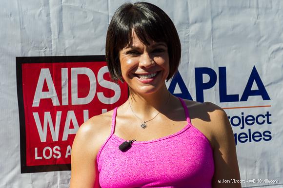 AIDS Walk 2012 Celebrity 4