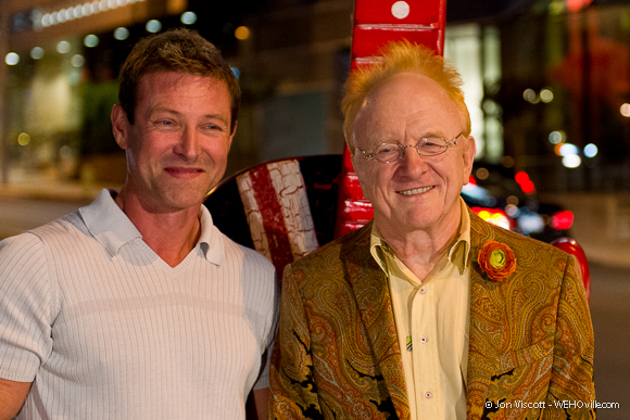 Todd Wiliamson and Peter Asher