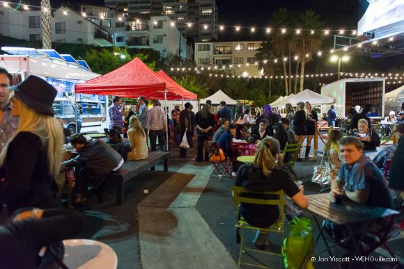 Sunset Market on Thursday Night