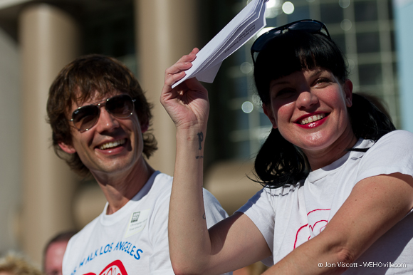 AIDS Walk 2012 Celebrity 17