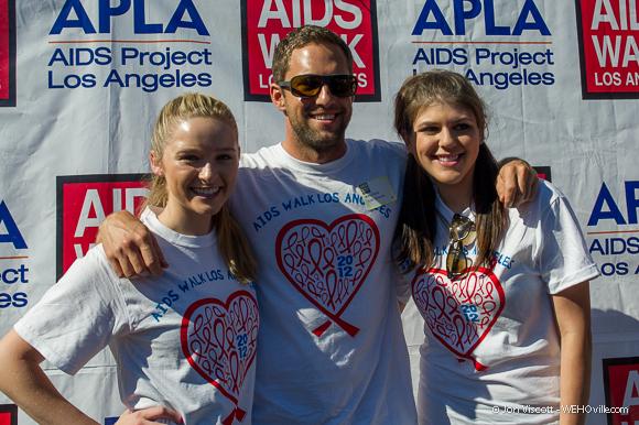 AIDS Walk 2012 Celebrity 31
