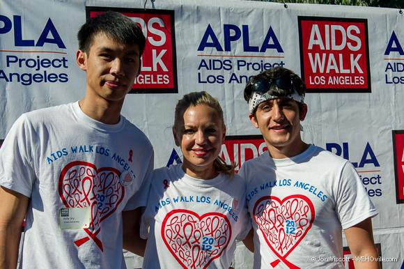 AIDS Walk 2012 Celebrity 32