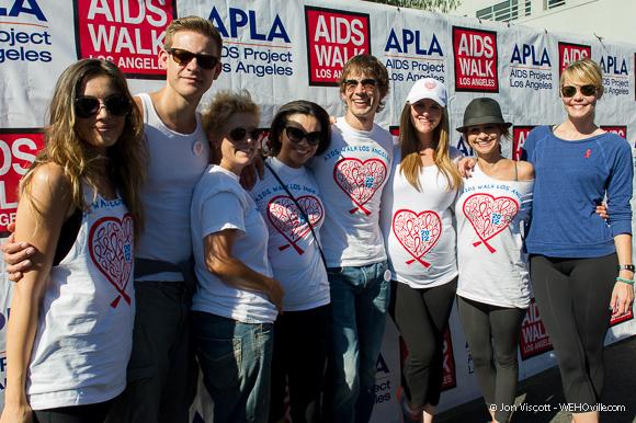 AIDS Walk 2012 Celebrity 33