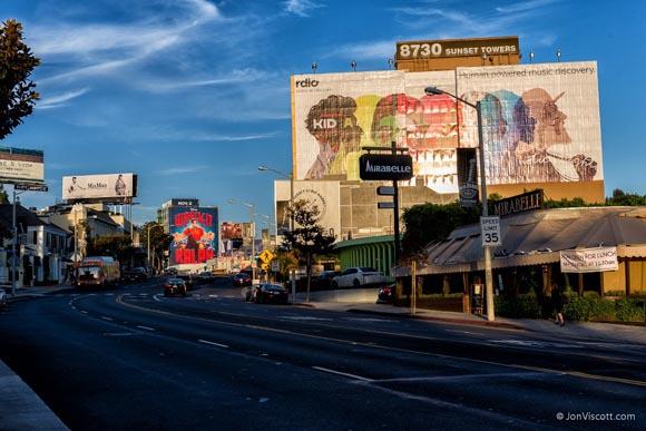 Jon Viscott West Hollywood Sunset Strip Market Billboard
