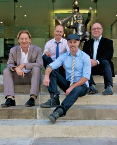 Jason Couvillion, Ken Bruce, John Rukavina and Tom Whitman of Bruvion ALT