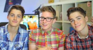 Tyler Oakley Teaches Twins Gay Speak Video Still