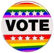 2012 election, Gallup survey, UCLA Williams Institute, gay voters, lesbian voters