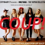 Coup, Christmas shopping, west hollywood shopping, west hollywood fashion, crybaby presents, club gaia, laurel hardware, tappan collective