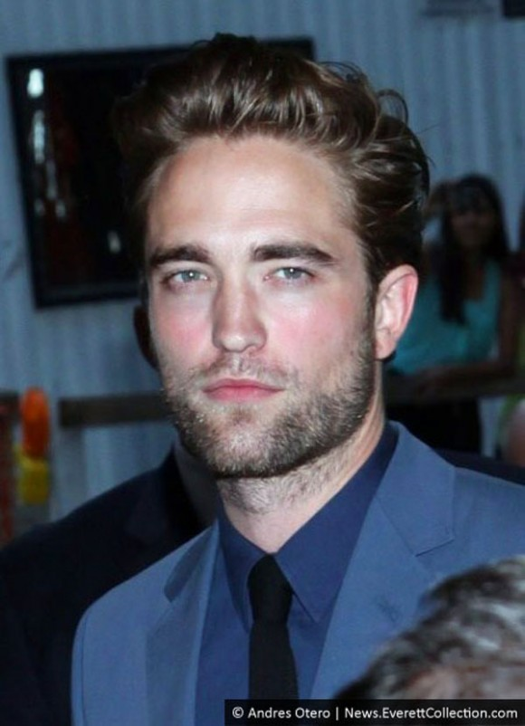 Robert Pattinson Quiff