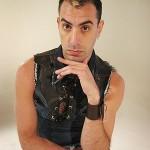 Sasha Baron Cohen as gay fashionista Brüno Gehard