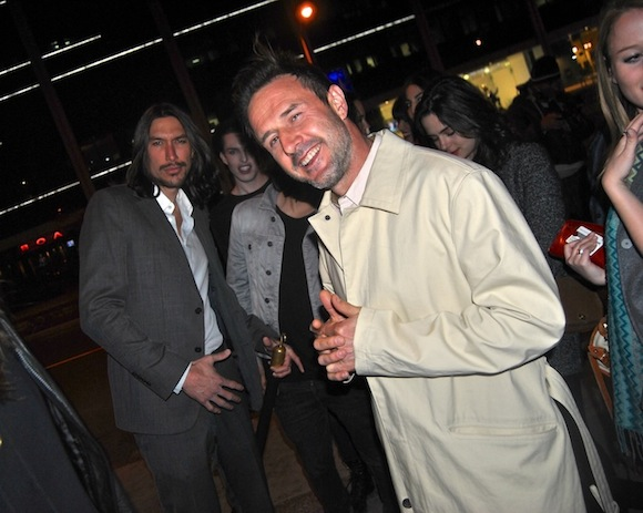David Arquette and Bootsy Bellows
