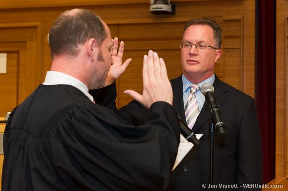 Jeffrey Prang sworn in