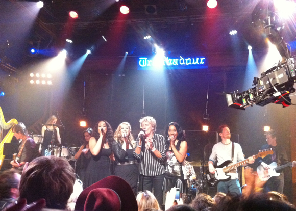 rod stewart at the Troubadour
