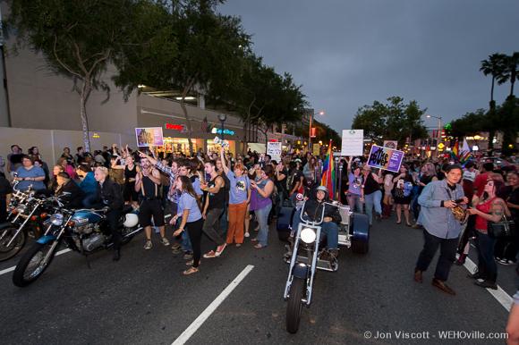 la pride 2013 purple party dyke march