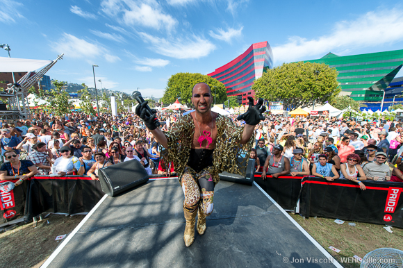 la pride 2013 entertainment