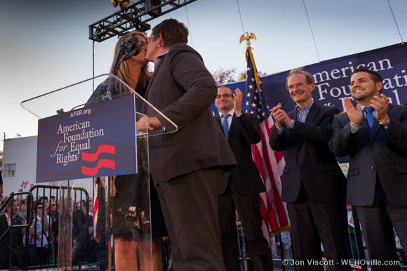 Weho Gay marriage rally