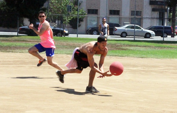 Summer Varsity Gay League Kickball Week 4