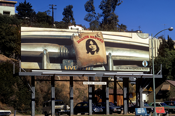 """Rock 'N' Roll Billboards of the Sunset Strip"""