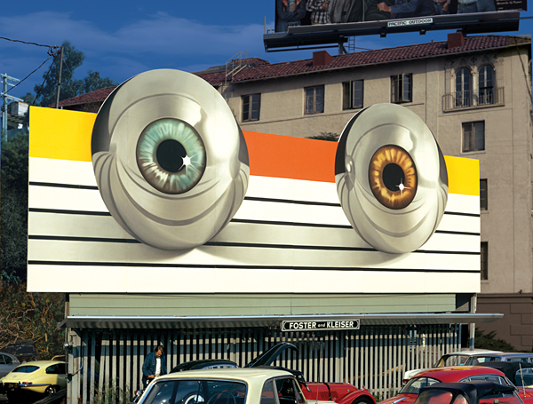 "A billboard for the movie ""Tommy"" based on the record by the Who."