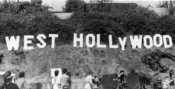 Throwback to the vintage west hollywood sign wehoville for Peg entwistle ghost caught on tape