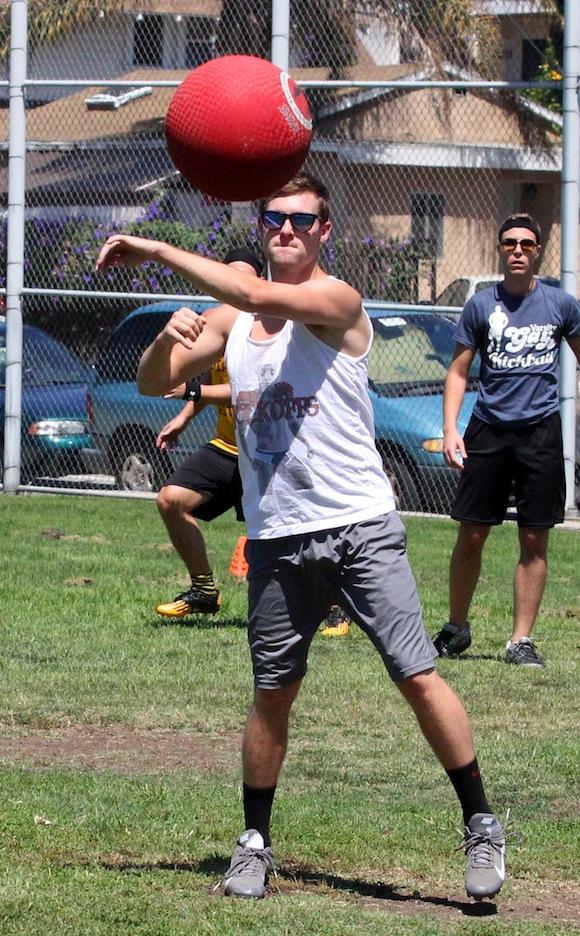 varsity gay league Kickball Finals