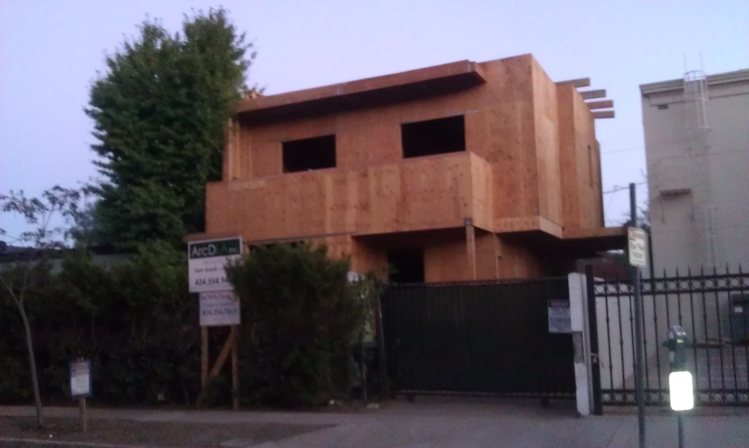 Cool Weho West Neighbors Were Being Invaded By Boxy Home Clones Interior Design Ideas Helimdqseriescom