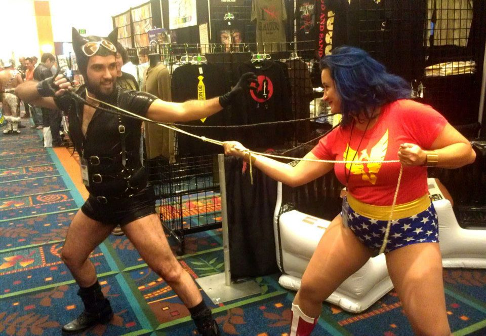 "Bent-Con brings together hundreds of LGBT and allied (or ""UnGay"") fans of comics, sci-fi, gaming and other pop culture.  (Photo courtesy of Bent-Con)"