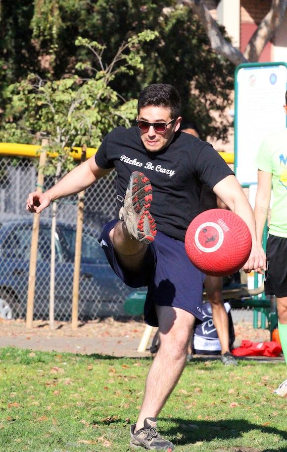 varsity gay league Champions Kickball fall 2013 Week 4