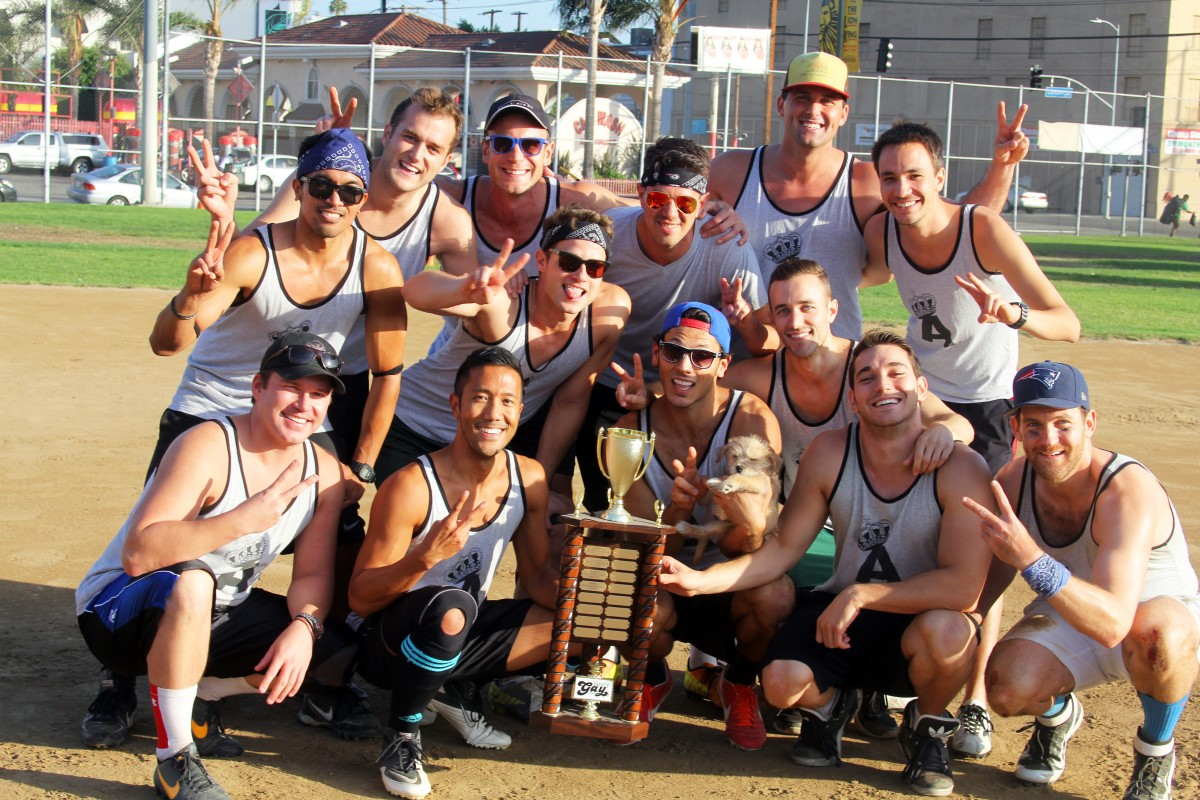 VGL's The Authority celebrates its second kickball championship