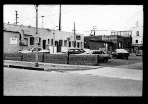 West Hollywood's 'Vaseline alley'