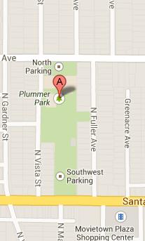 Map of Plummer Park