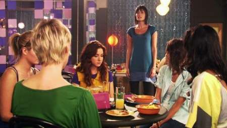 """A scene inside The Planet, the fictional West Hollywood hangout for lesbians on Showtime's """"The L Word"""""""